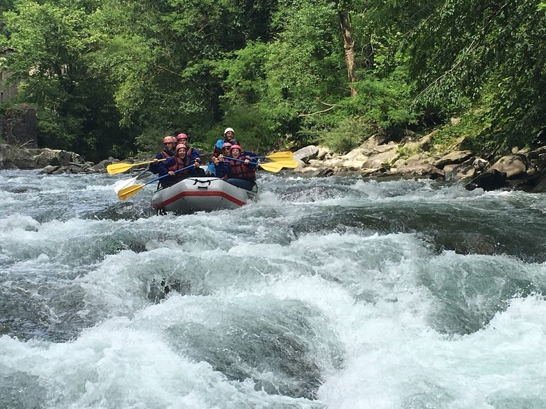 Tuscany rafting experience monte pisano in toscana - Rafting bagni di lucca ...